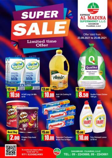 UAE - Fujairah Al Madina Supermarket LLC offers in D4D Online. Sakamkam, Fujairah. . Till 25th September