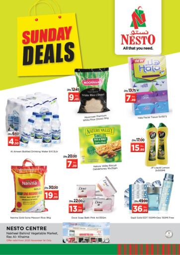 UAE - Ras al Khaimah Nesto Hypermarket offers in D4D Online. Ras Al Khaima. . Only On 01st November