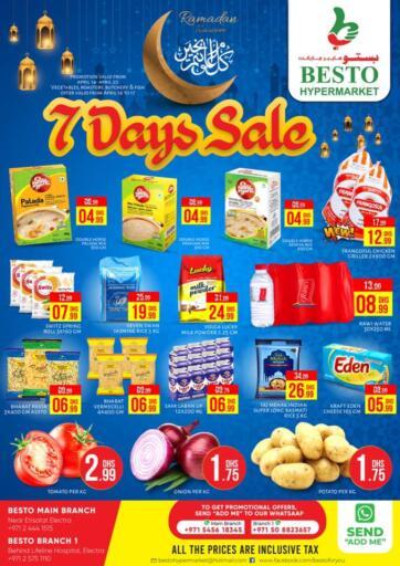 UAE - Abu Dhabi Besto Hypermarket offers in D4D Online. 7 Days Sale. . Till 20th April