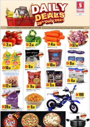 Qatar - Al-Shahaniya Safari Hypermarket offers in D4D Online. Daily Deals. . only on 28th July