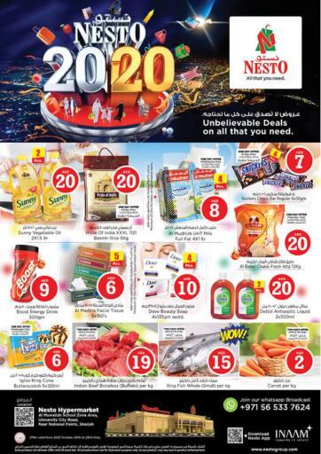 UAE - Sharjah / Ajman Nesto Hypermarket offers in D4D Online. Al Muwellah School Zone Sharjah. . Till 23rd October