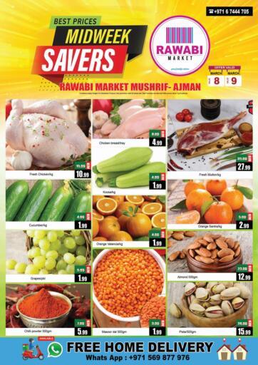 UAE - Sharjah / Ajman Rawabi Market Ajman offers in D4D Online. Mushrif, Ajman. . Till 9th March
