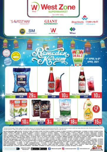 UAE - Abu Dhabi West Zone Supermarket offers in D4D Online. Ramadan Offers. . Till 8th April