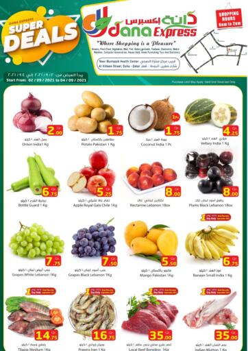 Qatar - Al Daayen Dana Express offers in D4D Online. Super Deals. . Till 4th September