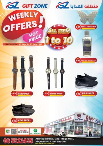 UAE - Sharjah / Ajman Gift Zone offers in D4D Online. Weekly Offers. . Till 27th September