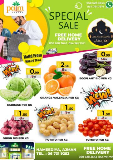 UAE - Sharjah / Ajman Palm Centre LLC offers in D4D Online. Special Sale. . Till 31st March