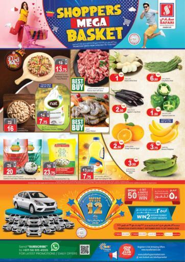 UAE - Dubai Safari Hypermarket  offers in D4D Online. Shoppers Mega Basket. . Till 17th February