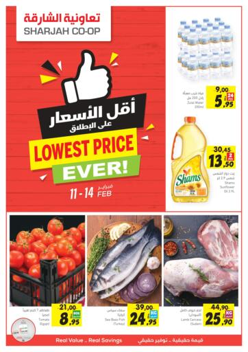 UAE - Fujairah Sharjah Co-Op Society offers in D4D Online. Lowest Price Ever!. . Till 14th February