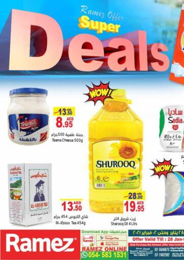 UAE - Abu Dhabi Aswaq Ramez offers in D4D Online. Super Deals. . Till 2nd February
