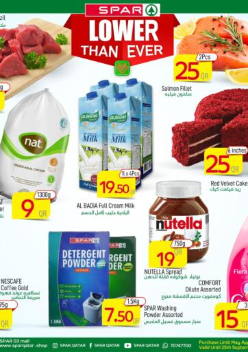 Qatar - Al Khor SPAR offers in D4D Online. Spar Lower Than Ever. Spar Lower Than Ever Offers Are Available At SPAR. Get Your Favourite Products at Exclusive Prices. Offers  Are Valid Until Stock Last.  .. Grab It Now Enjoy Shopping!!!. Until Stock Last