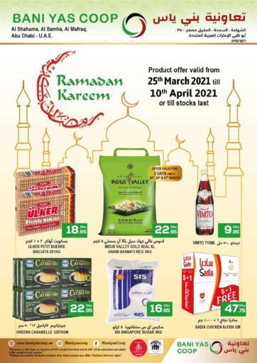 UAE - Abu Dhabi Bani Yas Cooperative Society offers in D4D Online. Ramadan Kareem. . Till 10th April