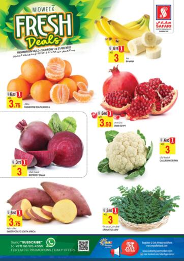 UAE - Sharjah / Ajman Safari Hypermarket  offers in D4D Online. Fresh Deals. . Till 21st September