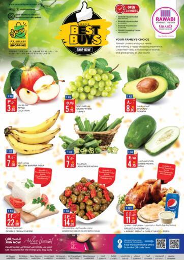 Qatar - Al Rayyan Rawabi Hypermarkets offers in D4D Online. Best Buy. . Till 01st October
