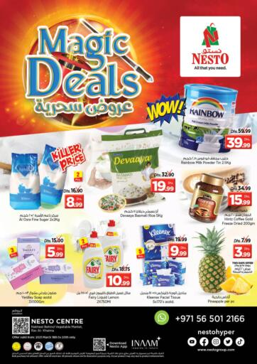 UAE - Ras al Khaimah Nesto Hypermarket offers in D4D Online. Ras Al Khaima. Exciting Offers Are Now Availed At Nesto Hypermarket. Visit Your Nearest Store And Get Everything On Best Price. Offer Valid Till 20th March.  Enjoy Shopping!!!. Till 20th March