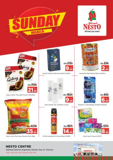 UAE - Ras al Khaimah Nesto Hypermarket offers in D4D Online. Ras Al Khaima. . Only on 10th January