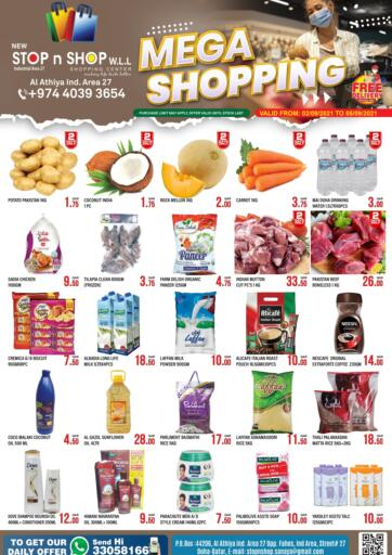 Qatar - Al Wakra New Stop n Shop @Al Athiya offers in D4D Online. Mega Shopping. . Till 5th September