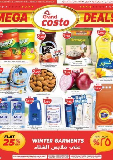 Kuwait Grand Costo offers in D4D Online. Mega Deals. . Till 9th February