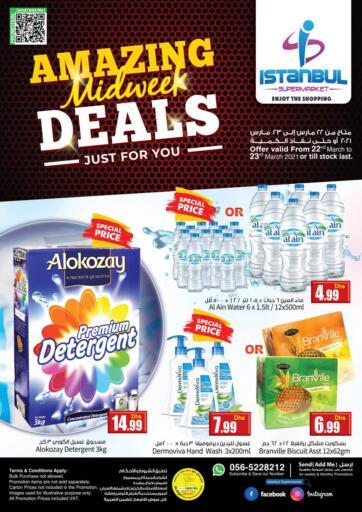 UAE - Dubai Istanbul Supermarket offers in D4D Online. Amazing Midweek Deals. . Till 23rd March