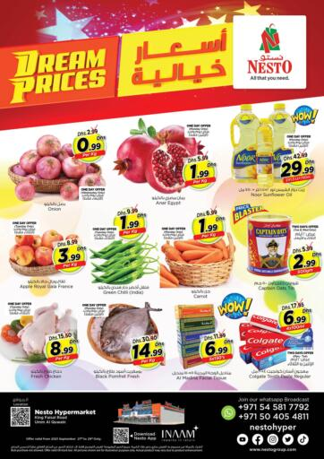 UAE - Dubai Nesto Hypermarket offers in D4D Online. Umm Al Quwain. . Till 29th September