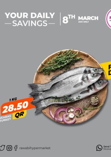 Qatar - Al Wakra Rawabi Hypermarkets offers in D4D Online. Your Daily Savings. . Only On 08th March