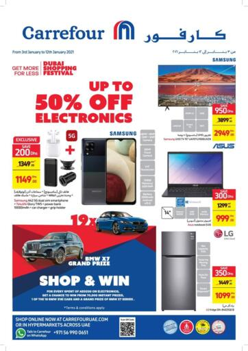 UAE - Ras al Khaimah Carrefour UAE offers in D4D Online. Up To 50% Off on Electronics. Up To 50% Off on Electronics At Carrefour UAE. Get Best Offers On  Electronic Items, Appliances, Gadgets, Toys, Fitness items, Home Needs, Groceries &  Many More At Their Store. Everything At A Single Place Offer Valid Till 12th January 2021. Enjoy Shopping !!. Till 12th January