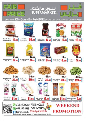 UAE - Abu Dhabi Fair Price Supermarket LLC offers in D4D Online. Weekend Promotion. . Till 2nd February