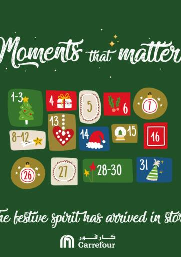 Bahrain Carrefour offers in D4D Online. Moments That Matter. Take advantage of 'Moments That Matter' and buy your  products at the best prices from Carrefour!. This offer is valid Till  26th November  2020. Enjoy Shopping!!!. Till 26th November