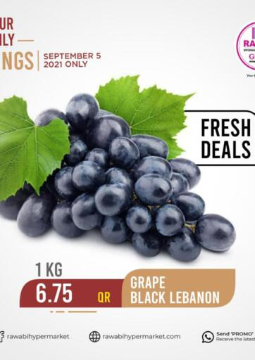 Qatar - Al Rayyan Rawabi Hypermarkets offers in D4D Online. Your Daily Savings. . Only On 05th September