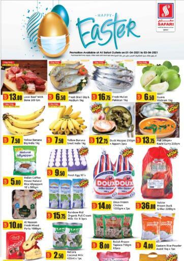 Qatar - Al Daayen Safari Hypermarket offers in D4D Online. Happy Easter. . Till 3rd April