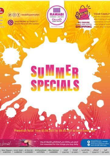Qatar - Al-Shahaniya Rawabi Hypermarkets offers in D4D Online. Summer Specials. Summer Specials Offers  Are Available At Rawabi Hypermarkets. Offers Are Valid  Till 09th June.   Enjoy!  . Till 09th June