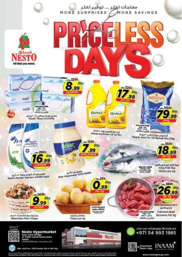 UAE - Fujairah Nesto Hypermarket offers in D4D Online. Al Tallah, Ajman. . Till 13th October