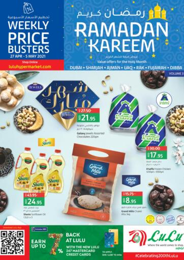 UAE - Dubai Lulu Hypermarket offers in D4D Online. Ramadan Offers Volume 3. . Till 5th May