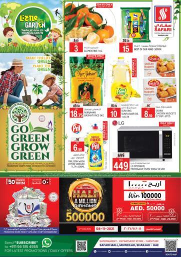 UAE - Sharjah / Ajman Safari Hypermarket  offers in D4D Online. Go Green Grow Green. . Till 3rd October