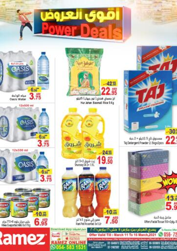UAE - Abu Dhabi Aswaq Ramez offers in D4D Online. Power Deals. Power Deals At Aswaq Ramez, Offers Going On For  Fresh Foods, Groceries, Electronics, Home Needs & Selected Items. Grab Your Favorites At Low Price.  Offer Valid Till 16th March 2021. Happy Shopping!!!. Till 16th March