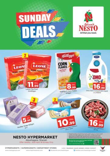 UAE - Sharjah / Ajman Nesto Hypermarket offers in D4D Online. Abu Shagara, Sharjah. . Only On 18th April