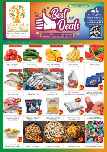 Qatar - Al-Shahaniya Carry Fresh Hypermarket offers in D4D Online. Best Deals @Muaither. . Till 9th June