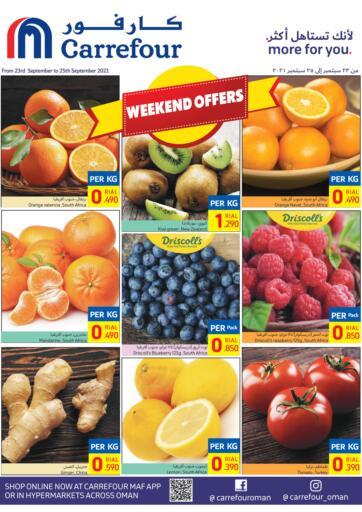 Oman - Sohar Carrefour offers in D4D Online. Weekend Offers. . Till 25th September