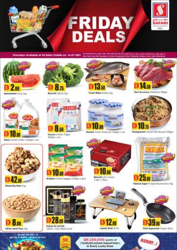 Qatar - Al-Shahaniya Safari Hypermarket offers in D4D Online. Friday Deals. . Only On 16th July