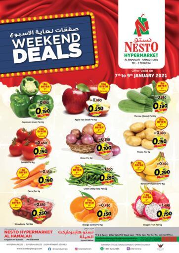 Bahrain NESTO  offers in D4D Online. Weekend Deals. . Till 09th January