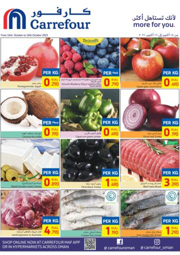 Oman - Sohar Carrefour offers in D4D Online. Weekend Offers. . Till 16th October