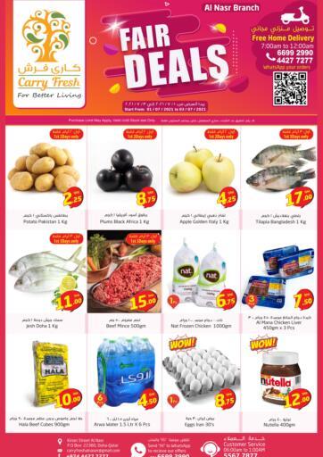 Qatar - Al-Shahaniya Carry Fresh Hypermarket offers in D4D Online. Fair Deals- Al Nasr. . Till 03rd July