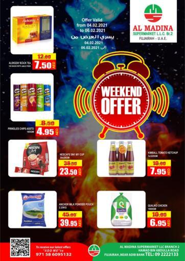 UAE - Fujairah Al Madina Supermarket LLC offers in D4D Online. Weekend Offer. . Till 6th February