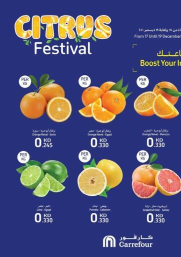 Kuwait Carrefour offers in D4D Online. Citrus Festival. . Till 19th December