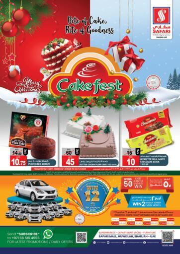 UAE - Dubai Safari Hypermarket  offers in D4D Online. Cake Fest. . Till 22nd December