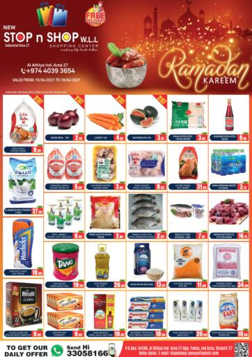 Qatar - Doha New Stop n Shop @Al Athiya offers in D4D Online. Weekend Offers. . Till 18th April