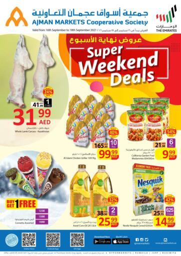 UAE - Sharjah / Ajman Ajman Markets Cooperative Society offers in D4D Online. Super Weekend Deals. . Till 18th September