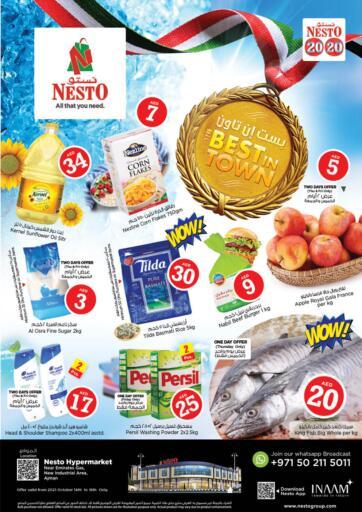 UAE - Fujairah Nesto Hypermarket offers in D4D Online. Sanaya, Ajman. . Till 16th October