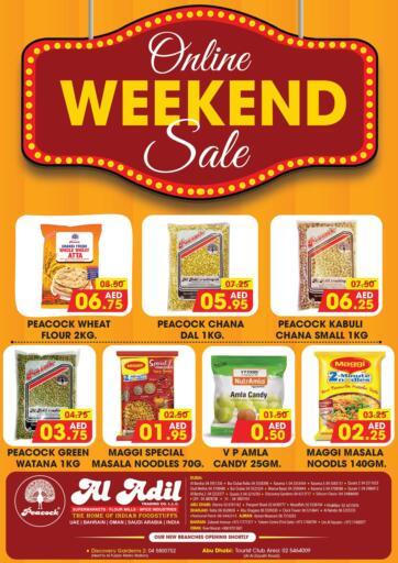 UAE - Abu Dhabi Al Adil Trading offers in D4D Online. Online Weekend Sale. . Till 17th February