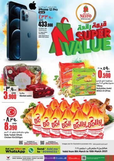 Oman - Salalah Nesto Hyper Market   offers in D4D Online. Super Value. . Till 10th March