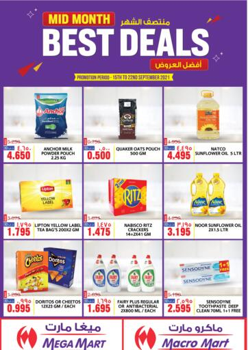 Bahrain MegaMart & Macro Mart  offers in D4D Online. Mid Month Best Deals. Mid Month Best Deals at MegaMart & Macro Mart !  Offers on Groceries,Home appliances,Stationery,Clothes much more are valid Till 22nd September Get it Now!! Enjoy Shopping!. Till 22nd September